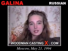 Download Galina casting video files. Pierre Woodman undress Galina, a Russian girl.