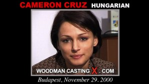Look at Cameron Cruz getting her porn audition. Erotic meeting between Pierre Woodman and Cameron Cruz, a Hungarian girl.
