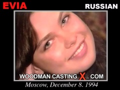 Access Evia casting in streaming. Pierre Woodman undress Evia, a Russian girl.