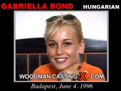 Check out this video of Gabriella Bond having an audition. Erotic meeting between Pierre Woodman and Gabriella Bond, a Hungarian girl.