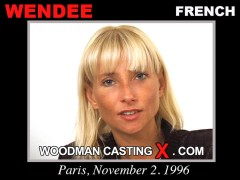 Check out this video of Wendee having an audition. Erotic meeting between Pierre Woodman and Wendee, a French girl.