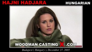 Look at Hajni Hadjara getting her porn audition. Erotic meeting between Pierre Woodman and Hajni Hadjara, a Hungarian girl.