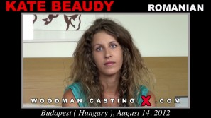 Look at Kate Beaudy getting her porn audition. Erotic meeting between Pierre Woodman and Kate Beaudy, a Romanian girl.