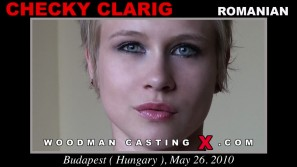 Watch our casting video of Checky Clarig. Erotic meeting between Pierre Woodman and Checky Clarig, a Romanian girl.