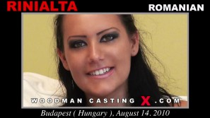 Download Rinialta casting video files. A Romanian girl, Rinialta will have sex with Pierre Woodman.