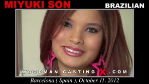 Watch Miyuki Son first XXX video. Pierre Woodman undress Miyuki Son, a Brazilian girl.