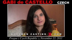 Look at Gaby De Castello getting her porn audition. Erotic meeting between Pierre Woodman and Gaby De Castello, a Czech girl.