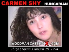 Watch Carmen Shy first XXX video. Pierre Woodman undress Carmen Shy, a Hungarian girl.