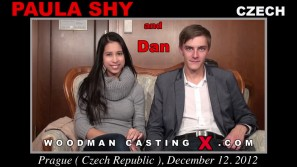 Watch our casting video of Paula Shy. Erotic meeting between Pierre Woodman and Paula Shy, a Czech girl.