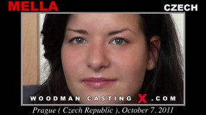 Download Mella casting video files. Pierre Woodman undress Mella, a Czech girl.