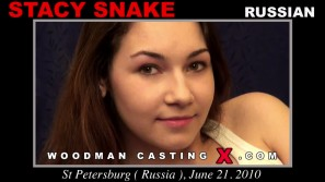 Watch our casting video of Stacy Snake. Pierre Woodman fuck Stacy Snake, Russian girl, in this video.