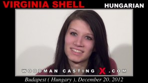 Download Virginia Shell casting video files. A Hungarian girl, Virginia Shell will have sex with Pierre Woodman. 