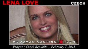 Watch our casting video of Lena Love. Erotic meeting between Pierre Woodman and Lena Love, a Czech girl.