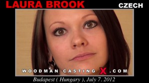 Download Laura Brook casting video files. A Czech girl, Laura Brook will have sex with Pierre Woodman. 