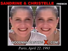 Watch our casting video of Christelle & Sandrine. Erotic meeting between Pierre Woodman and Christelle & Sandrine, a French girl.