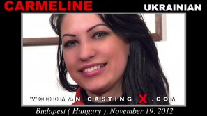 Download Carmeline casting video files. Pierre Woodman undress Carmeline, a Ukrainian girl.