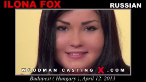Access Ilona Fox casting in streaming. Pierre Woodman undress Ilona Fox, a  girl.