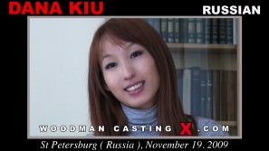 Watch our casting video of Dana Kiu. Erotic meeting between Pierre Woodman and Dana Kiu, a  girl.