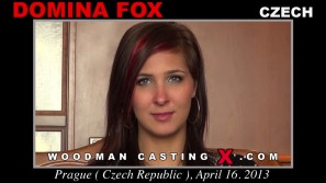 Download Domina Fox casting video files. Pierre Woodman undress Domina Fox, a  girl.