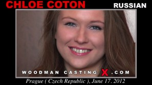 Access Chloe Coton casting in streaming. Pierre Woodman undress Chloe Coton, a  girl. 
