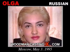 Watch Olga  first XXX video. Pierre Woodman undress Olga , a Russian girl.