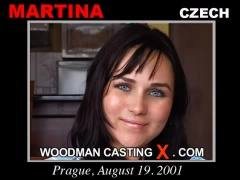 Access Martina casting in streaming. Pierre Woodman undress Martina, a Czech girl. 