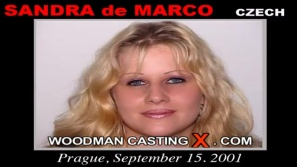 Download Sandra De Marco casting video files. Pierre Woodman undress Sandra De Marco, a Czech girl. 