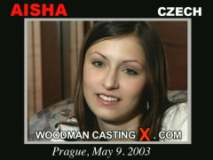 Watch Aisha first XXX video. A Czech girl, Aisha will have sex with Pierre Woodman. 