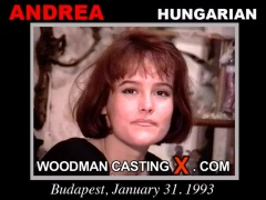 Watch Andrea- Added 2009-01-15 first XXX video. Pierre Woodman undress Andrea- Added 2009-01-15, a Hungarian girl. 