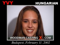 Access Yvy - Added 2009-01-16 casting in streaming. Pierre Woodman undress Yvy - Added 2009-01-16, a Hungarian girl. 