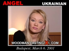 Watch Angel first XXX video. A Ukrainian girl, Angel will have sex with Pierre Woodman. 
