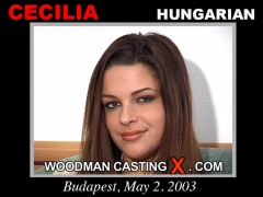 Watch Cecilia first XXX video. Pierre Woodman undress Cecilia, a Hungarian girl.