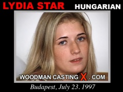 Download Lydia Star  casting video files. Pierre Woodman undress Lydia Star , a Hungarian girl.
