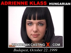 Check out this video of Adrienne Klass having an audition. Pierre Woodman fuck Adrienne Klass, Hungarian girl, in this video.