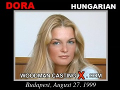 Watch Dora first XXX video. Pierre Woodman undress Dora, a Hungarian girl.